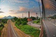 Фотография с квартальского моста