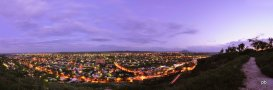 Панорама ночного Горячеводска