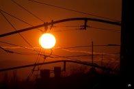 Закат над Пятигорском - осень