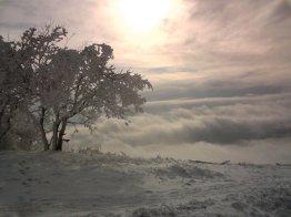 Зима на вершине Машука