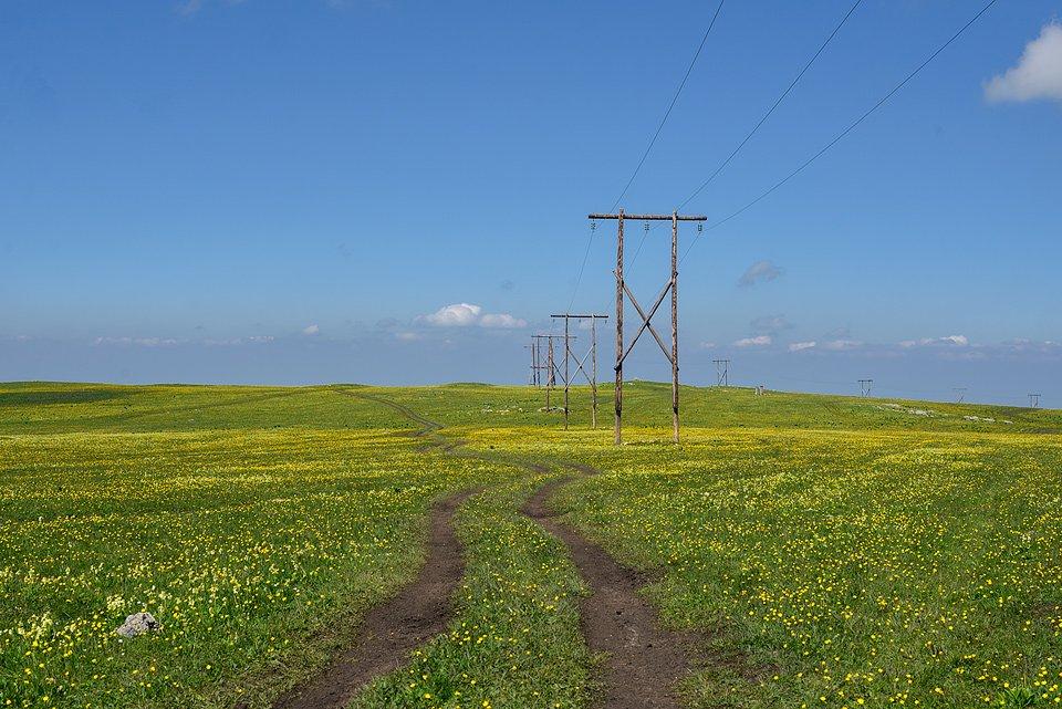 Дорога в Учкекен