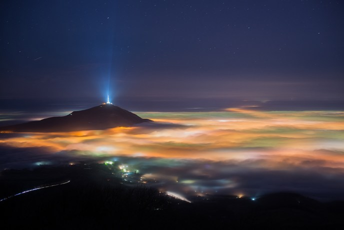 Туман в Пятигорске. Nikon d600
