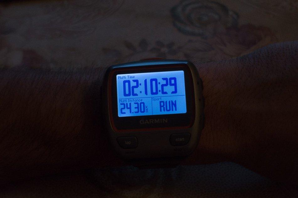 Суммарная дистанция и время