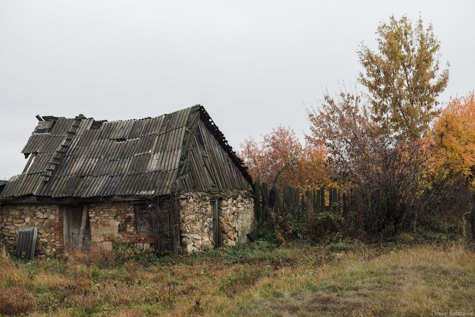 Заброшенный домик в Тульской области