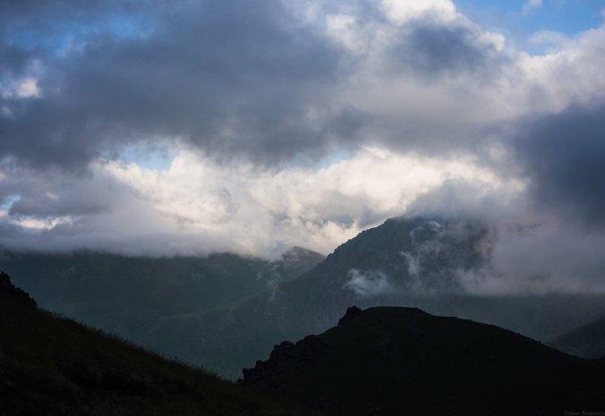 Облака развеиваются