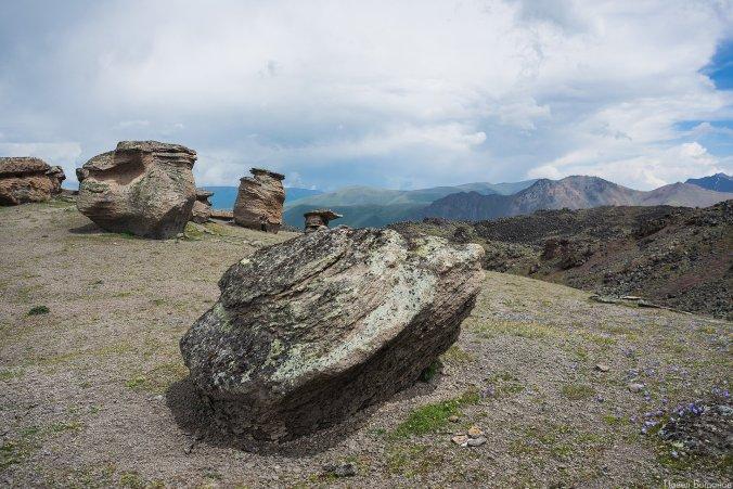 Каменные грибы Джилы-Су