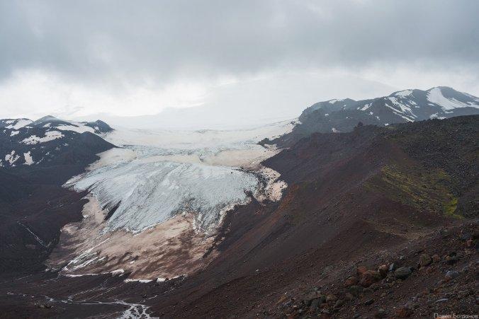 Нижняя часть ледника, скоро наш лагерь