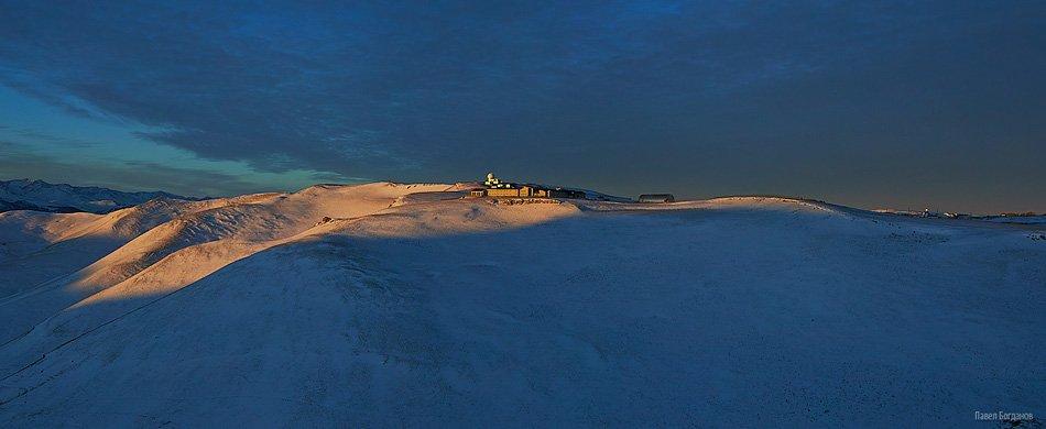 Панорама с видом на обсерваторию