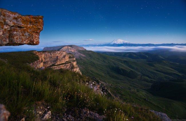 Ночь на плато Бермамыт