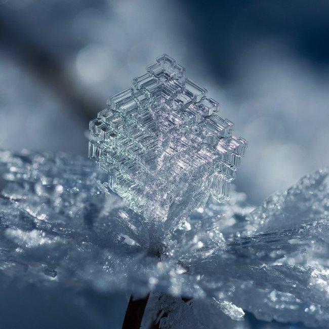 Ледяные узоры в -20