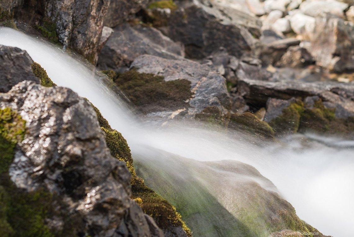 Речка на Софийских озерах