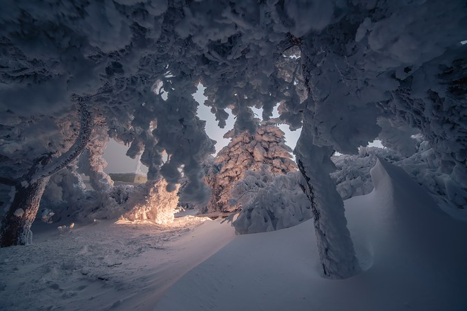 Морозная ночь