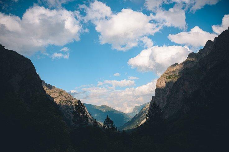 Вид на север с Цейского ледника