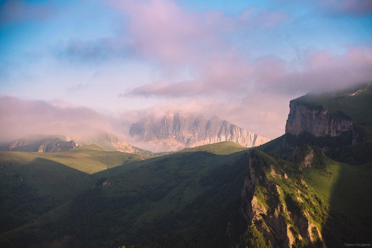 Западный Ачешбок и закат