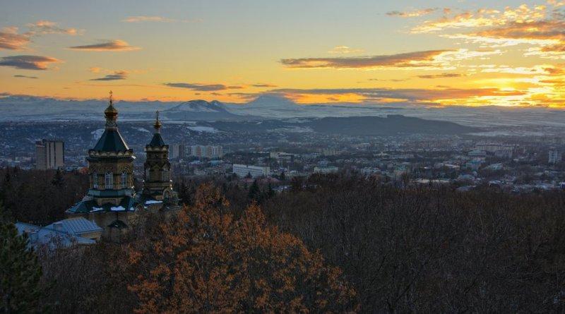 Купить фото Пятигорска на закате