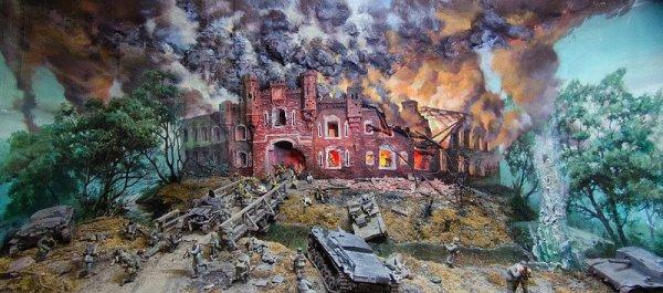 Диорама «Героическая оборона Брестской крепости»