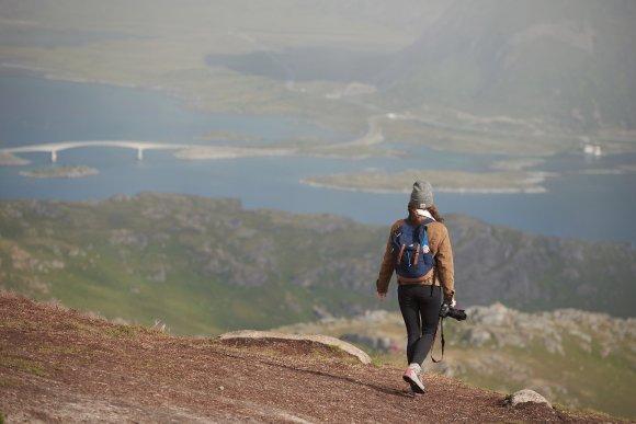 Вид с горы Ryten