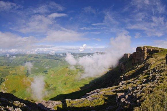 Виды с горного плато
