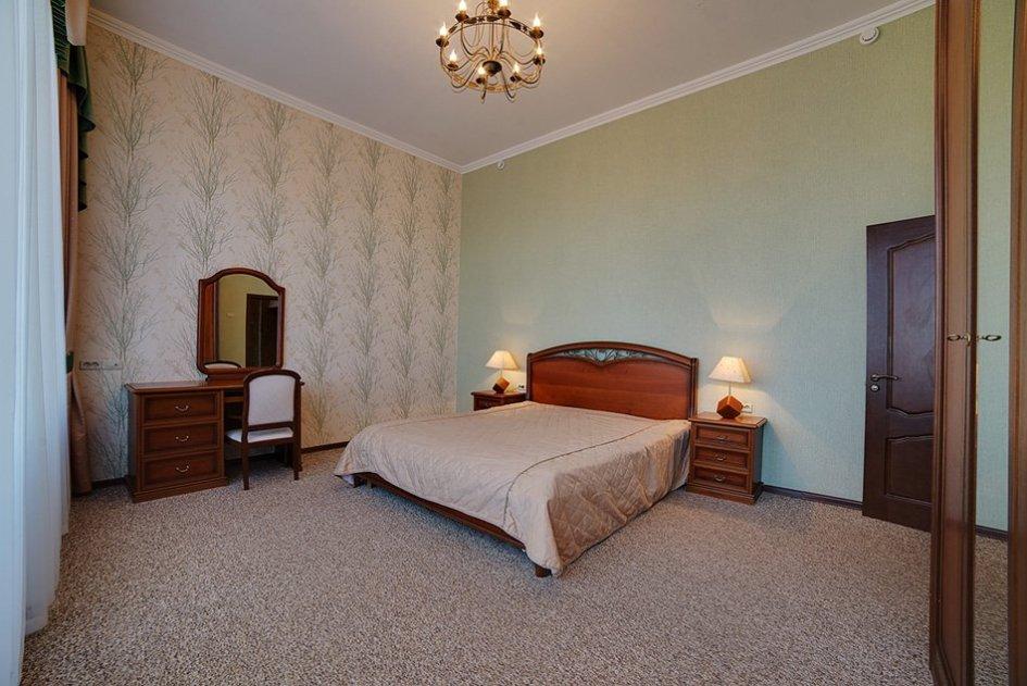 Интерьерное фото спальни в санатории