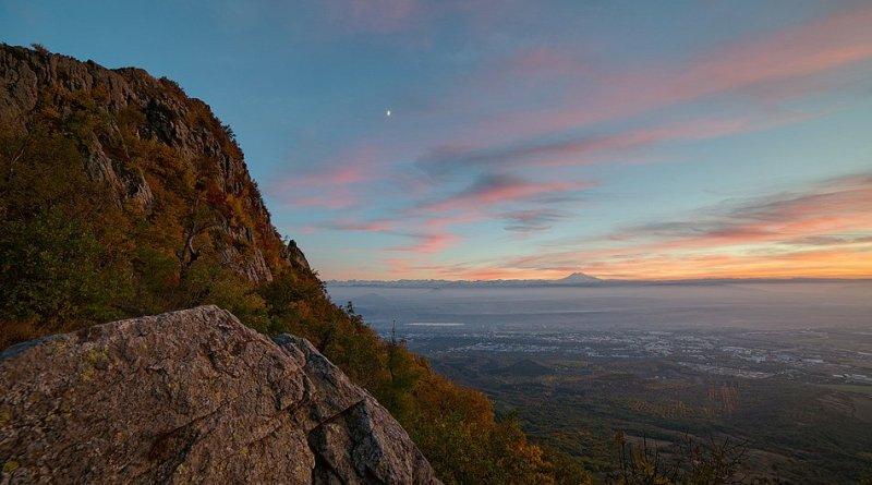 Фото - Эльбрус на закате