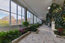 Фото летнего сада в санатории