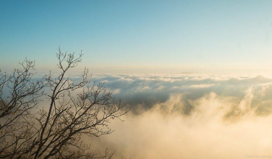 Машук - над облаками