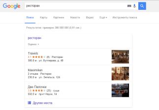 Бизнес-страницы в Google