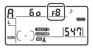 Размер диафрагмы
