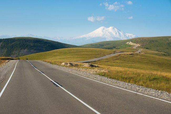 Дорога к Эльбрусу