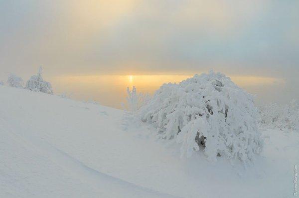Снег на Машуке