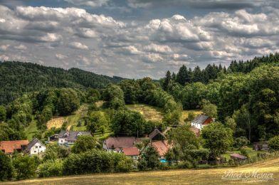 Tiny village Dobrá Voda (Šumava | červen 2014)