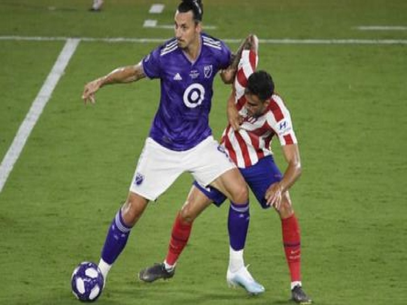 Football: Ibrahimovic/Rooney and MLS Allstar team stunned by