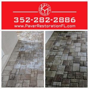 Brick Paver Cleaning and Sealing - Paver Restoration of Florida