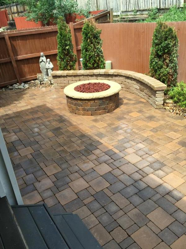 using polymeric sand as a joint filler