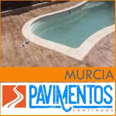 Hormigón impreso en Murcia