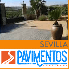 Hormigón impreso en Sevilla