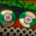 Soan with swastik (2pce)green