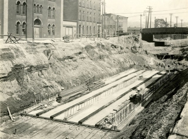 Metro u Sinsinatiju, Ohajo,izuzev prokopanih 10 kilometara,  nikada realizovan