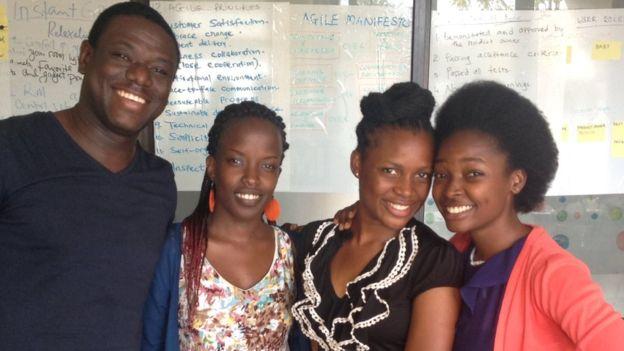 Akwasi Sarpong i tim programerki napravili su aplikaciju-detektor za krvnu anemiju. Foto: BBC