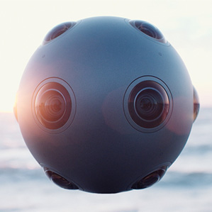 Nokia VR kamera Ozo za sferične 3-D video klipove