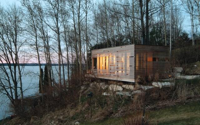 Sunset Cabin, Kanada: Privatnost ušuškana usred najdrevnijih obala Ontarija? Da, molim!