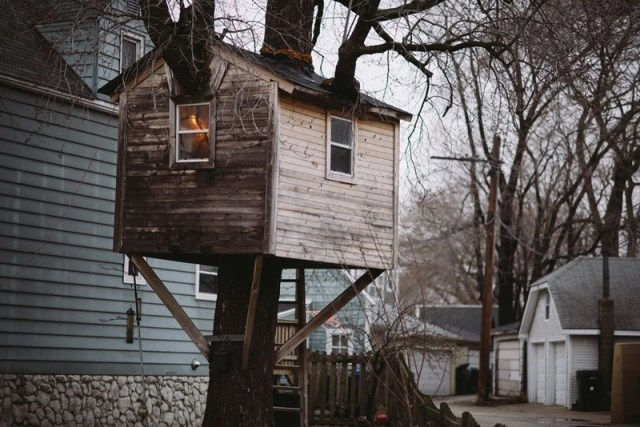 Čikago, Ilinoj, SAD: Ubedljivo najpristupačnija koliba na ovoj listi, Chi City kućica na drvetu vredna je penjanja na visinu od tri metra