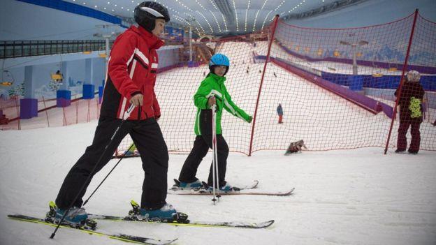 Kina se nada da će prerasti u svetski centar zimskih sportova