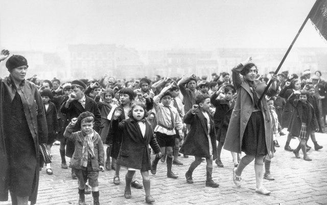 Prvi maj u Parizu 1934, foto:Getty Images/ Peščanik