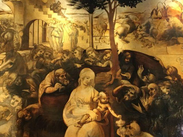 """""""Klanjanje Magima"""", nedovršeno Leonardovo platno"""
