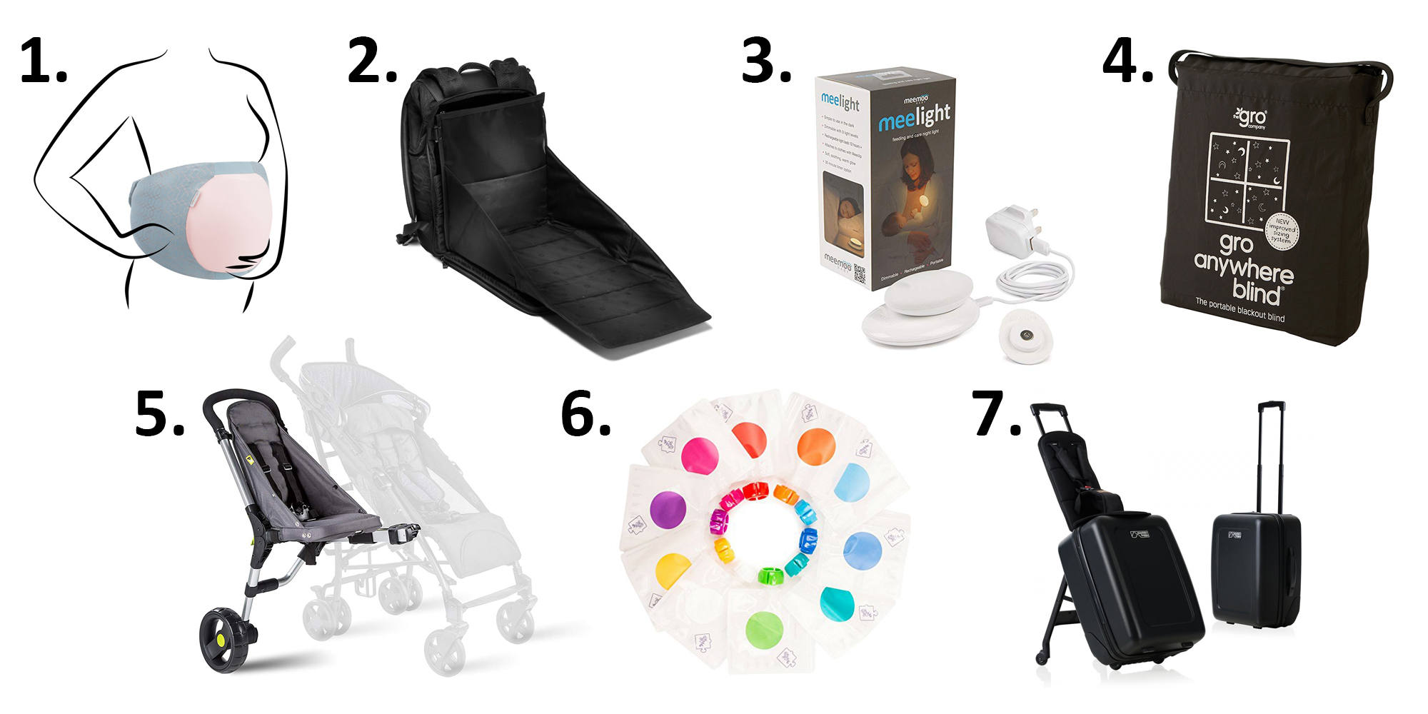 7 novelty items for easy parenting