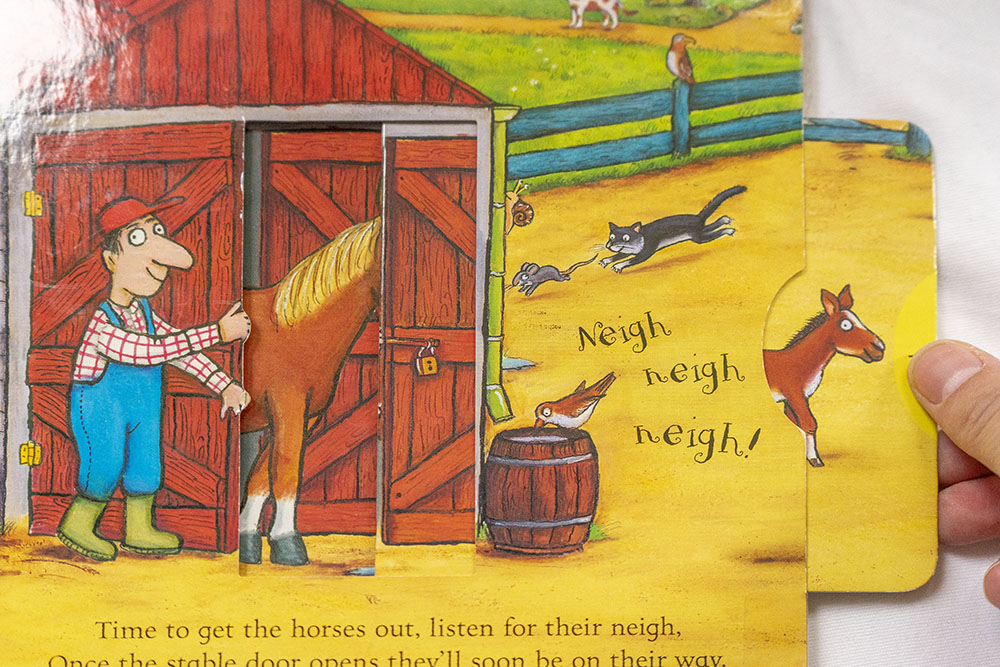 Children's books - On the farm