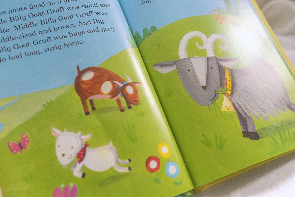 Children's books - Three billy goats gruff