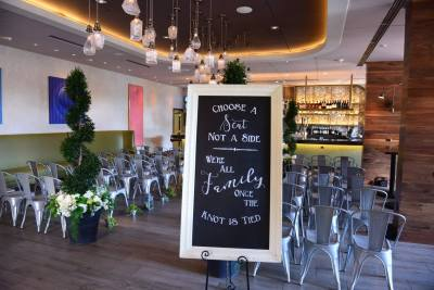 wedding chalkboard seating sign