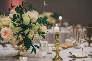 elegant wedding center pieces